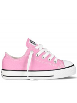 chaussures converse courte rose