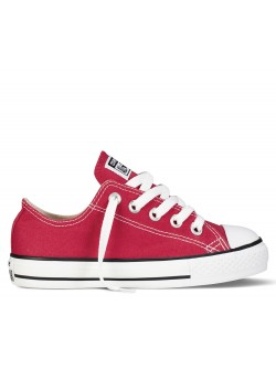 Converse Cadet Chuck Taylor all star toile basse rouge