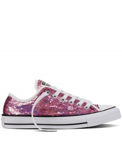 Converse Chuck Taylor all star basse sequin rose