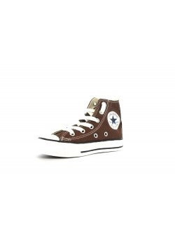 Converse Chuck Taylor All star Junior toile chocolat