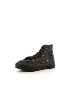 Converse Chuck Taylor all star junior cuir mat chocolat