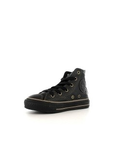 Converse Chuck Taylor all star junior cuir Soft noir