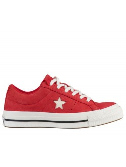 Converse Chuck Taylor one star suède rouge