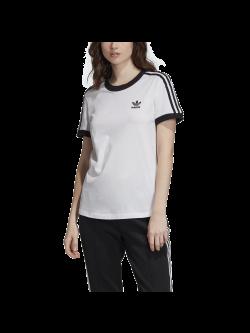 ADIDAS ED7483 Tee-Shirt blanc / noir