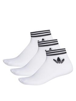 ADIDAS Chaussettes Tref blanc / noir