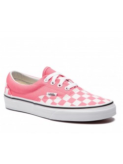 Vans Era damier rose