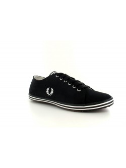Fred Perry Kingston toile noir / blanc