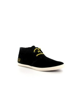 Fred Perry Roots suède noir
