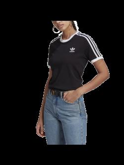 ADIDAS GN2900 Tee- Shirt 3 bandes noir / blanc