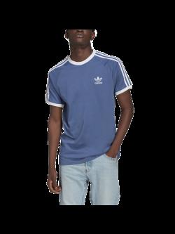 ADIDAS GN3501 Tee- Shirt 3 bandes Crew blue