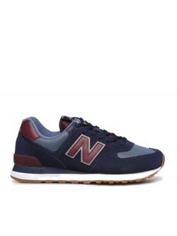 New Balance ML574 navy / red