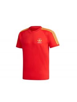 ADIDAS GP1919 Tee- Shirt Espagne rouge