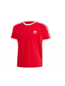 ADIDAS GD9934 Tee-Shirt rouge / blanc
