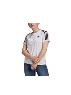 ADIDAS GN2913 Tee- Shirt 3 bandes blanc / noir