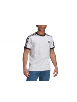 ADIDAS GN3494 Tee- Shirt 3 bandes blanc / noir