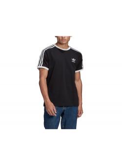 ADIDAS GN3495 Tee- Shirt 3 bandes noir / blanc