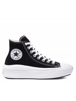 Converse Chuck Taylor all star Move noir ( plateforme)