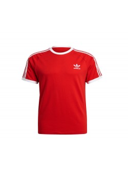 ADIDAS GN3502 Tee- Shirt rouge / blanc