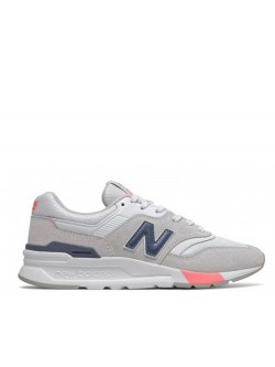 New Balance CW997 suède blanc / gris
