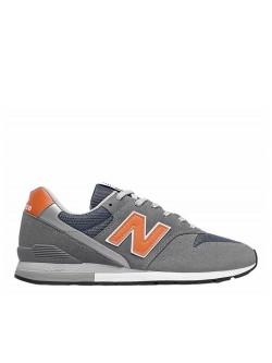 New Balance CM996 suède gris / orange