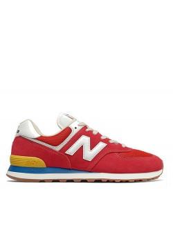 New Balance ML574 rouge