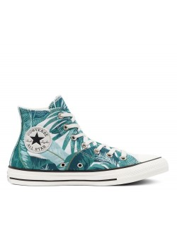 Converse Chuck Taylor all star toile Jungle bleu