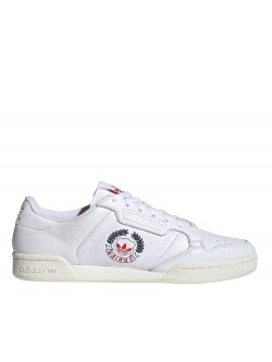ADIDAS Continental 80 blanc / lauriers tricolore