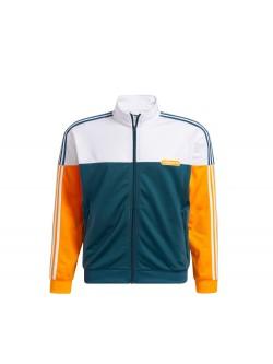 ADIDAS GN8618 Veste vert / blanc / orange