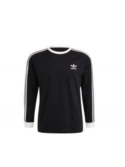 ADIDAS GN3478 Tee - shirt 3 bandes noir / blanc