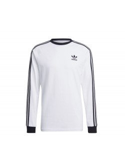 ADIDAS GN3477 Tee - shirt 3 bandes blanc