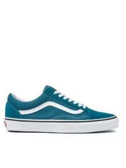 Vans Old Skool blue / coral