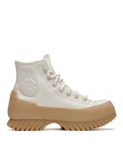 Converse Chuck Taylor All Star Lugged Winter 2.0 Cold Fusion cuir plateforme crème