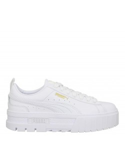 Puma Mayze cuir blanc
