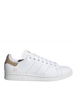 Adidas Stan Smith Primegreen blanc / camel signature