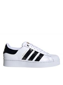 ADIDAS Superstar plateforme bold blanc / noir