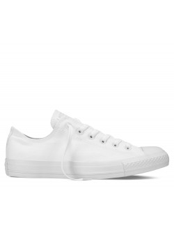 Converse Chuck Taylor all star basse monochrome blanc