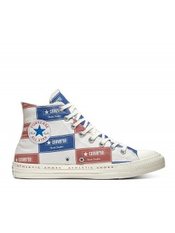 Converse Chuck Taylor all star Patch tricolore