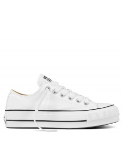 Converse Chuck Taylor all star lift basse blanc