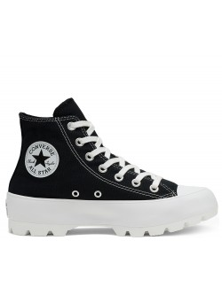 Converse Chuck Taylor all star Lugged toile plateforme noir