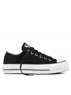Converse Chuck Taylor all star lift basse noir