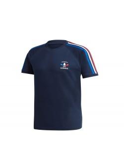 ADIDAS GP1920 France Tee - Shirt Marine