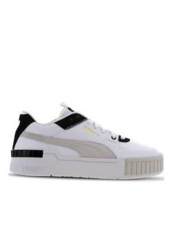 Puma Cali Sport Cuir Suéde blanc