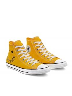 Converse Chuck Taylor all star Logo jaune / noir
