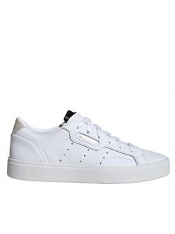 ADIDAS Sleek cuir blanc