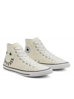 Converse Chuck Taylor all star Logo beige / noir