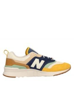 New Balance CM997 jaune / nil / marine
