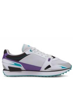 Puma Mileride blanc / violet / turquoise