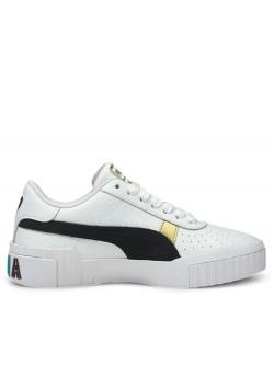 Puma Cali Varssity cuir blanc