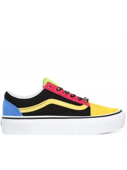 Vans Old Skool plateforme multicolor