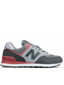 New Balance WL574 purple / gris